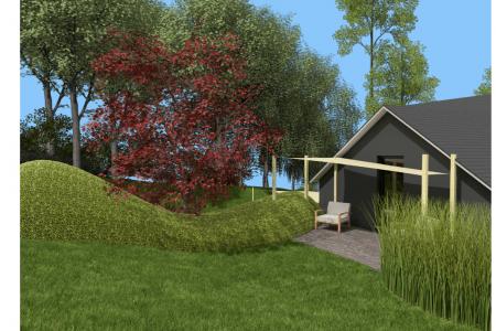Images 3D réalisées par L'Esquisse du Jardin SPRL
